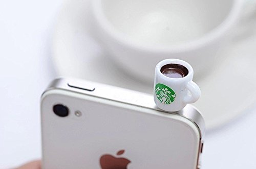 iphone ear plug charm - 9