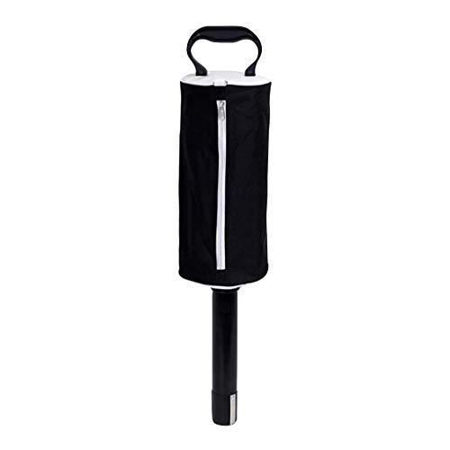 - IslandsePortable Golf Ball Shag Bag Pick Up Receiver Tube Collector Practice Ball Bag Black