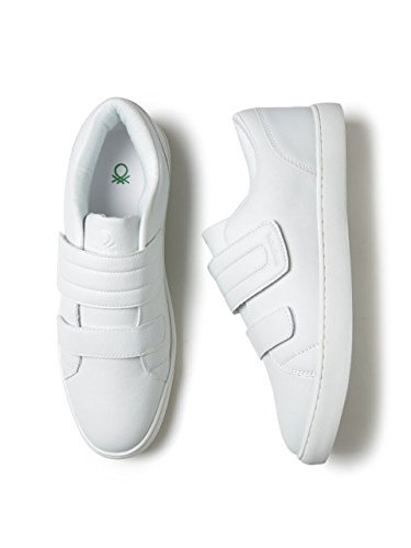 b0b085d90be United Colors of Benetton Men s White Sneakers - 10.5 UK India (45 EU)  Buy  Online at Low Prices in India - Amazon.in