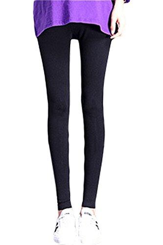 Pantaloni Soft Le Lunghi Sulla Dei Pancia Leggings Extra Black Simgahuva Donne Premaman zqRxwR8H