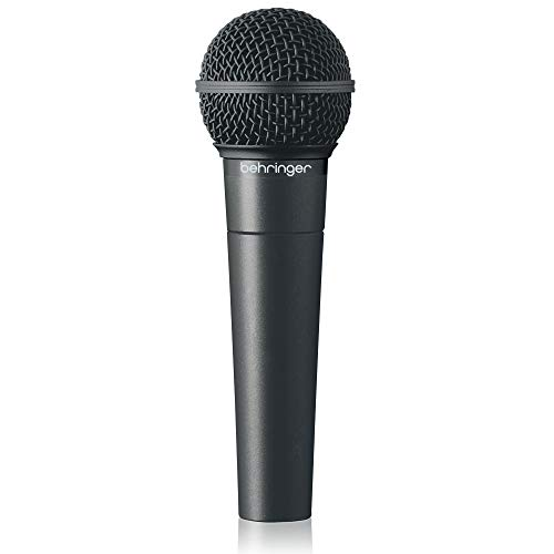 Behringer Ultravoice Xm8500 Dynamic Vocal Microphone, Cardioid (Best Piano Microphone For Live Sound)
