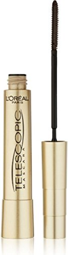 L'Oreal Paris Telescopic Mascara, Black [905] 0.27 oz (Pack of 2)