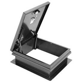 Weathertight Roof Hatch, Galvanized, 30''Lx36''W by JL Industries / Activar