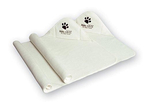 (Water-LESS Pet Bath Towel - As Seen on TV)