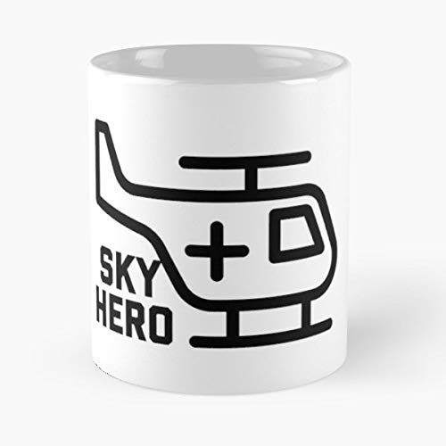 (Helicopter Firefighter Police Officer - 11 Oz White -coffee Mug- Unique Birthday Gift-the Best Gift For Holidays.)