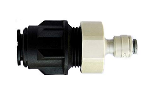 15mm Pipe to 1/4″ Fridge Water Filter Pipe Adapter-Pushfit