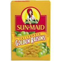 Sun Maid California Golden Raisins 15 oz (Pack of 24)