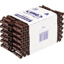 Rawlplug Uno Brown - Clip of 288 (Trade Pack) 7 x 30mm (863410)