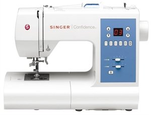SINGER SEWING CO. 7465 Confidence Computerised Sewing Mac...
