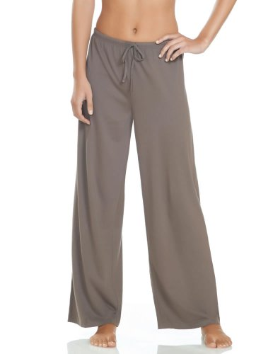 (Jockey Women's Long Sleep Pant, Black, Large)
