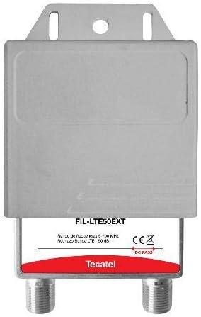 Filtro LTE 5G de Exterior 690 MHz Tecatel 50dB DC