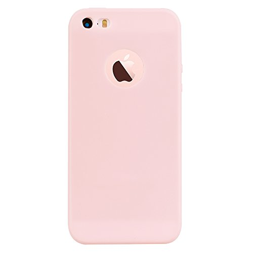 Shockproof Armor Case for Apple iPhone SE/5S/5 (Crystal/Gold) - 8