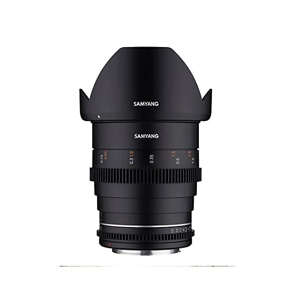 RetinaPix Samyang Brand Photography MF Lens 24MM T1.5 VDSLR MK2 Sony E