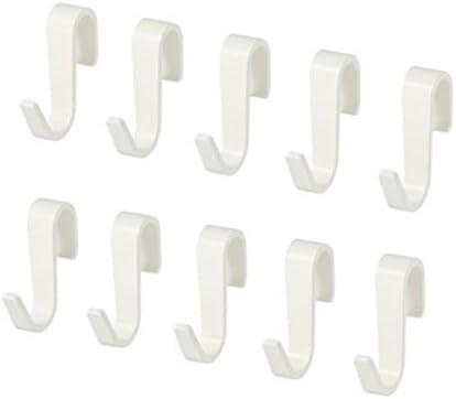IKEA SUNNERSTA hook, kitchen hookxFF0C;S Hooks 10 PcsxFF0C;white