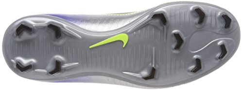 Nike Unisex-Kinder Jr Mercurial Victory VI Neymar FG Fußballschuhe Blau (Racer Blue Black Chrome Volt 407)