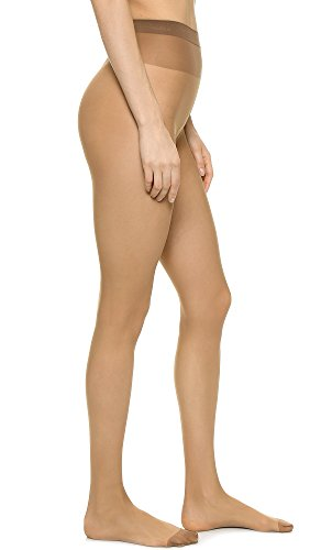 Wolford Women's Individual 10 Tights, Mousse, Tan, X-Small