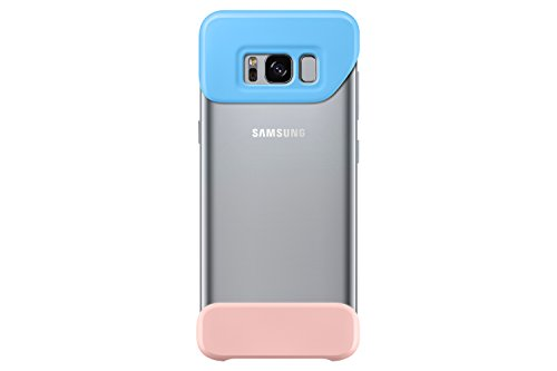 Samsung Galaxy S8+ Two Piece Cover, Blue / Pink