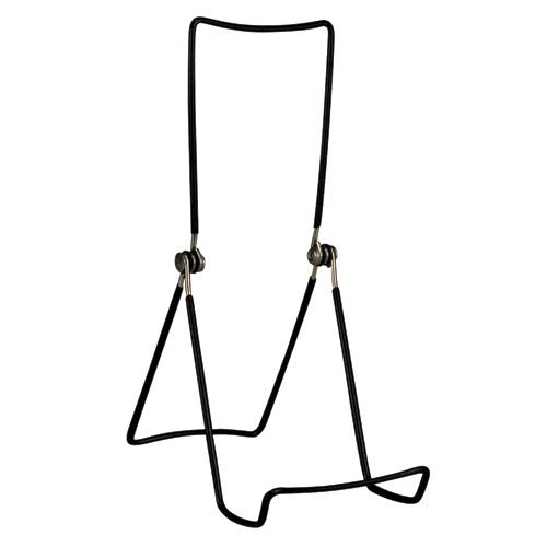 Deep Stand - Gibson Holders 6AC 3-Wire Display Stand with Deep Edge, Black, 4-Pack