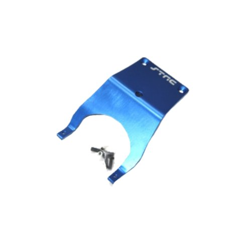 ST Racing Concepts ST3623FB Front Skid Plate for Stampede (Blue)