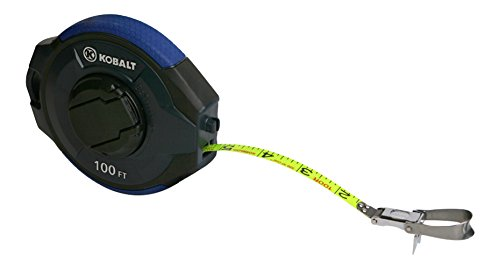 Kobalt 100-ft Long Tape Visibility Coated Blade Measurer Pla