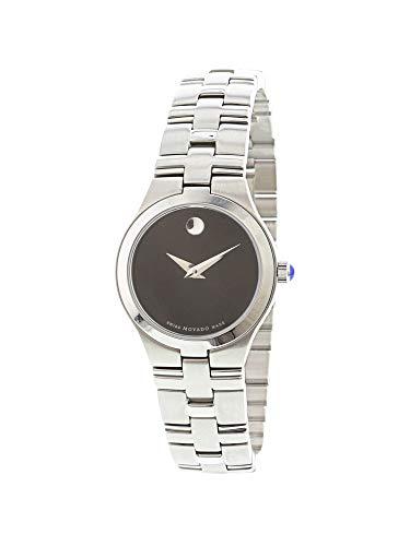 Movado Women's Juro 605024 Silver Stainless-Steel Swiss Automatic Fashion Watch