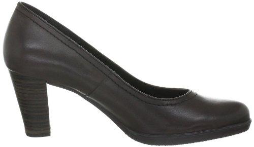Tamaris TAMARIS 1-1-22401-29 - Zapatos clásicos de cuero para mujer Marrón