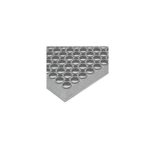 NoTrax Tek-Tough Jr 3' x 10' Gray Floor Mat