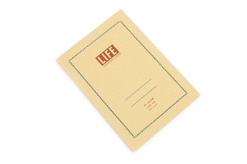 LIFE VERMILION (Vermilion) B6 notebook [squares] N66 (Life Notebook)