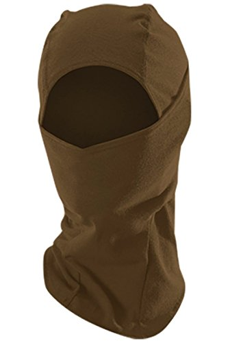 DRIFIRE CAT2 Flame Resistant Cold Weather Balaclava Coyote Brown, SIZE: UNIVERSAL