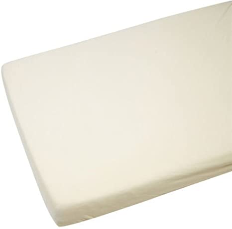 2 x sábana bajera cuna 120 x 60 cm 100% algodón crema: Amazon.es: Bebé