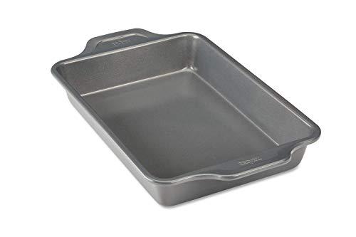 All-Clad J2570364 Pro-Release Bakeware Pan, 13 In x 9 In x 2.25 In, Grey