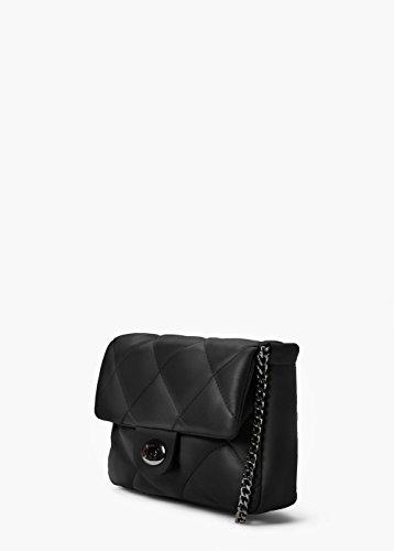 E431 Black Model x Leather 15 Bag Bag 5 Mango LxHxW PU Shoulder Ladies ; cm 19 S000291 x Crossbody A4TRBwqwx