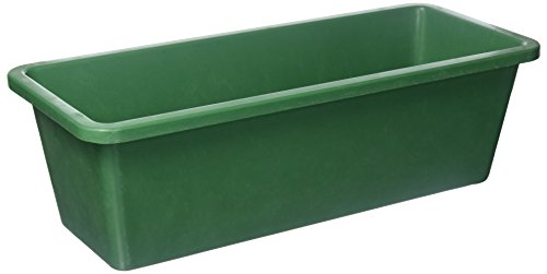 MFG Tray 1101085105 Toteline Nesting Container, Glass Fiber Reinforce, Plastic Composite, 18'' x 7.75'' x 5.5'', Green by MFG Tray