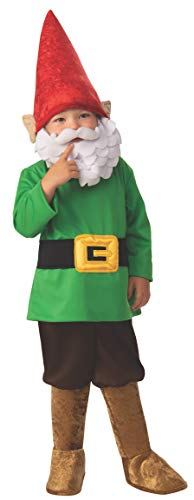 Halloween Costumes With Beards 2019 (Rubie's Opus Collection Garden Gnome Boy Costume,)