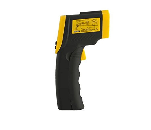 FANNEGO Non-Contact Digital Laser IR Infrared Thermometer Gun-58°F to 716°F(-50°C to 380°C) LCD Display With Backlight(Batteries Not Included)
