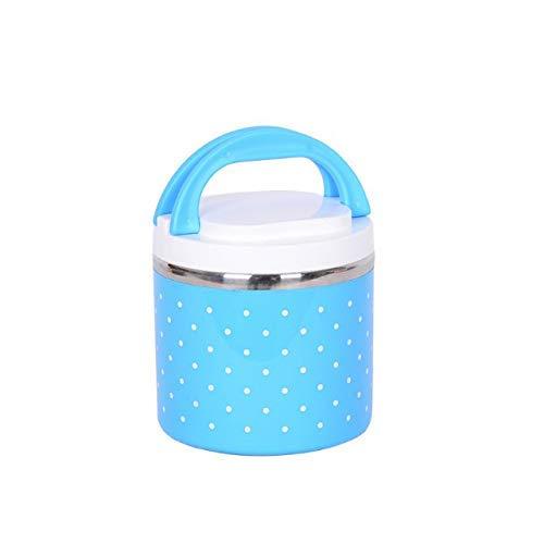 Lunch Pot I Lunch Box in acciaio inox a prova di fuoriuscite I Thermos Funzione I interno in acciaio inox I esterno senza BPA I Lunch Box Lunch Pot to Go per cereali