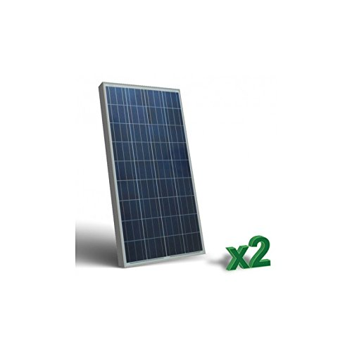 Puntoenergia Italia –  Set 2 x 100 W 12 V SR pannelli solari fotovoltaici set tot. 200 W baita –  set2-sr100-p