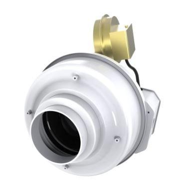 Booster Fan Duct (Fantech DBF 110 Dryer Booster Fan 4