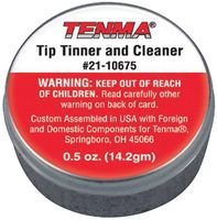 TENMA 21-10675 CLEANER, TIP TINNER, CONTAINER, 0.5OZ (1 piece) by Tenma