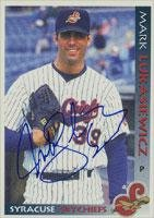 Mark Lukasiewicz Syracuse Skychiefs - Blue Jays Affiliate 1998 Grandstand Autographed Card - Minor League Card. This item comes with a certificate of authenticity from Autograph-Sports. Autographed