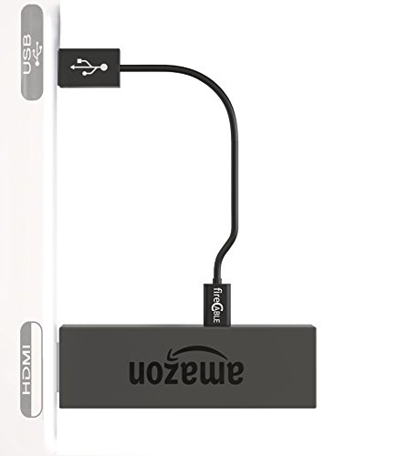 fireCable Micro USB Cable for Powering Any TV Stick Directly From TV USB Power Port, Compatible With Fire Stick, Roku Streaming Stick and Chrome Stick