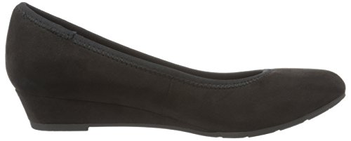 22201, Zapatos de Tacón para Mujer, Negro (Black 001), 36 EU Marco Tozzi