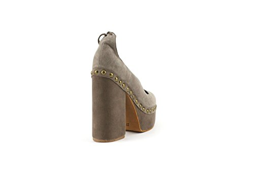 Scarpa Jeffrey Campbell BETTINA Taupe Kid Suede - Size:37