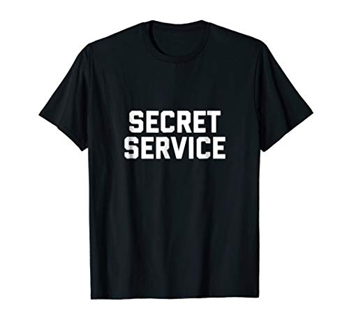 Mens Secret Service Costume Shirt Small