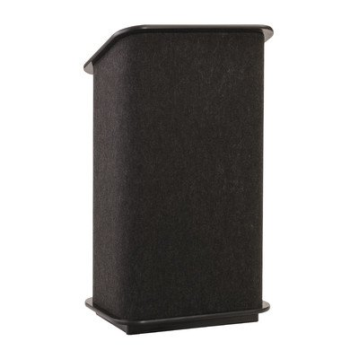 Spectrum Full Podium Trim Finish: Painted Oak, Finish: Charcoal Gray