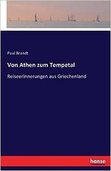 Book Von Athen zum Tempetal