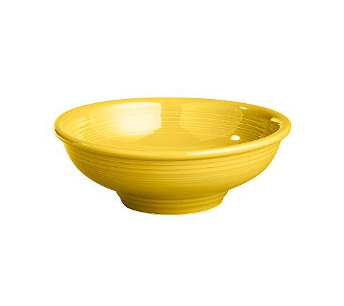 Fiesta 64-Ounce Pedestal Bowl, Sunflower