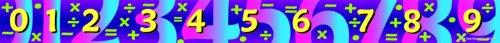 Math Border Trim (Carson Dellosa Mark Twain Math Borders (5003))