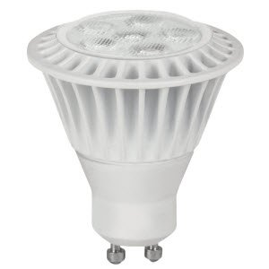 TCP LED7MR16GU1041KFL MR16 LED Bulb, GU10, 7W (50W Equiv.) - Dimmable - 4100K - 550 Lm.