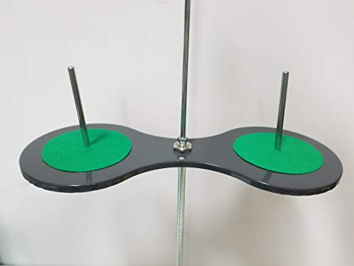 for Industrial... 2 Cone and Spool Stand Thread Holder with Sturdy Metal Base
